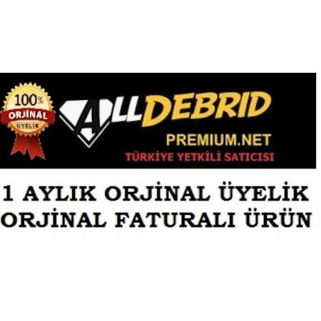 1 Aylık Alldebrid Premium Üyelik (Orjinal)
