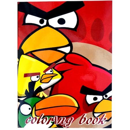 Angry Birds Boyama Kitabı Sticker Ve Maskeli N11com