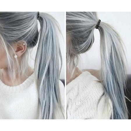 Gümüş Inox Gri Saç Boyası N11com