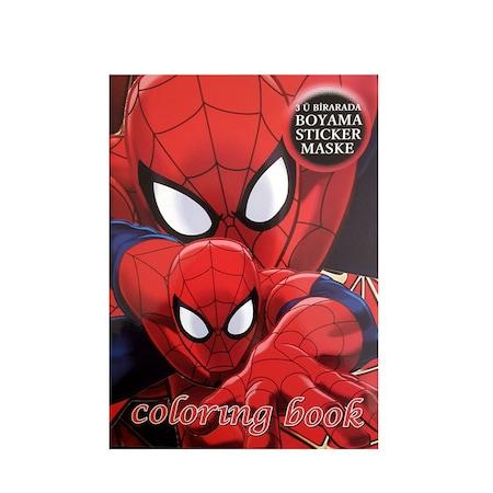 Spiderman Boyama Kitabı 4 Adet N11com