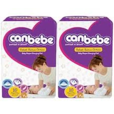 Canbebe Bebek Bakım Örtüsü 82