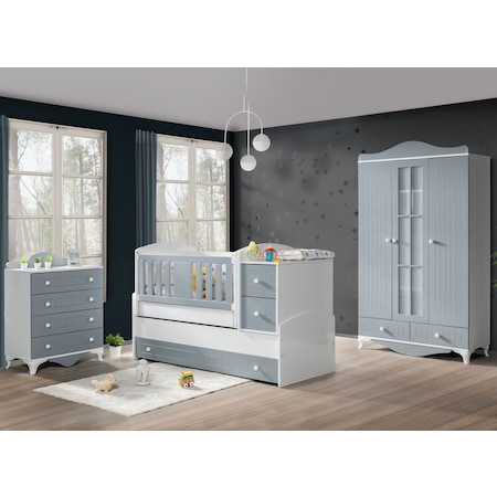 Kullanışlı, Ergonomik Bebek Odası Takımı Sahibi Olun