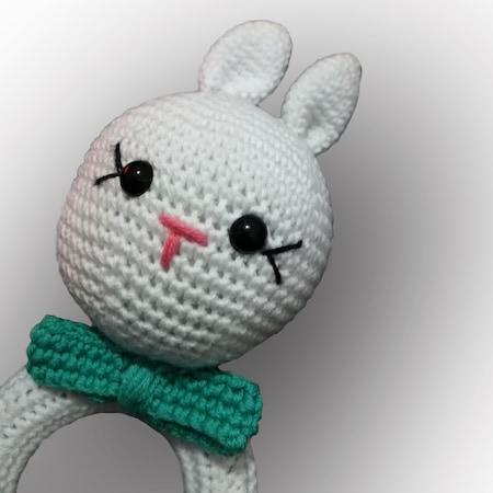 Amigurumi tavşan ve örgü çıngırak | Amigurumi modelleri, Tığ işi ... | 450x450