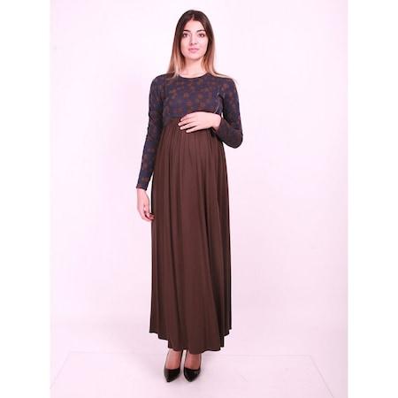32f770986e30f Işşıl Hamile Giyim Papatya Çiçekli Tesettür Elbise - n11.com