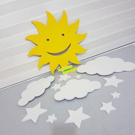 Güneş Bulut Ve Yıldızlı Set Takım N11com