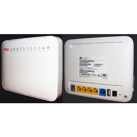 Huawei HG630a VDSL/ADSL 4 Port 300 MBPS Fiber Vdsl2/Adsl2+ Modem