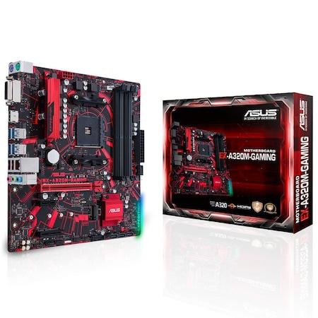 Asus EX-A320M-GAMING AMD A320 3200 MHz (OC) DDR4 Soket AM4 mATX Anakart