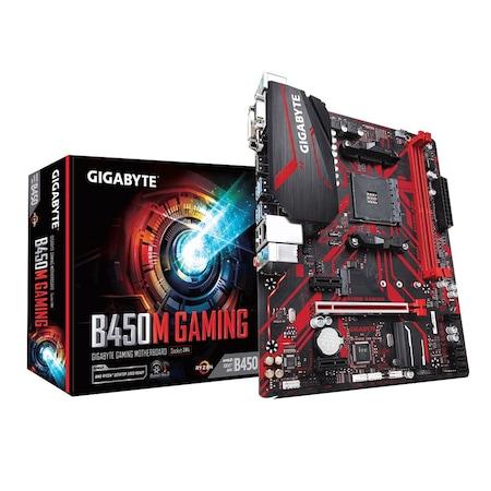 Gigabyte B450M Gaming AMD B450 3600 MHz (OC) DDR4 Soket AM4 mATX Anakart