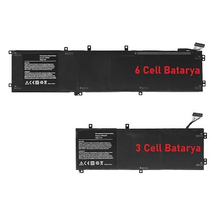 Dell XPS P56F (9550) Batarya Pil RETRO 3Cell