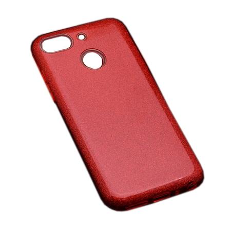 AntDesign Brillant General Mobile 8 Go Simli Kılıf Kırmızı