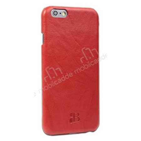Iphone 6 Plus Red >> Burkley Snap Iphone 6 Plus 6s Plus Gercek Deri Red Rubber Kilif