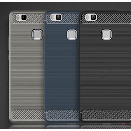 Huawei P9 Lite Kılıf Soft Karbon Sililkon Kılıf-ROM