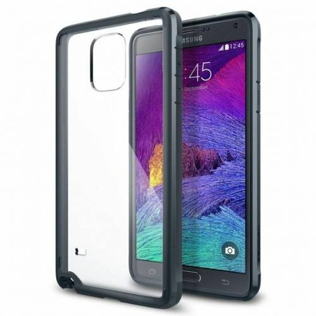 reputable site dbe32 bc142 Galaxy Note 4 Case Neo Hybrid Metal Slate