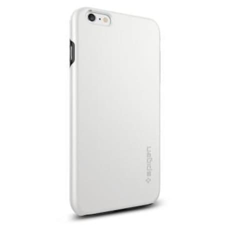 buy popular ee1fa e7c3d iPhone 6 Plus/6s Plus Kılıf, Spigen Thin Fit Hybrid - White