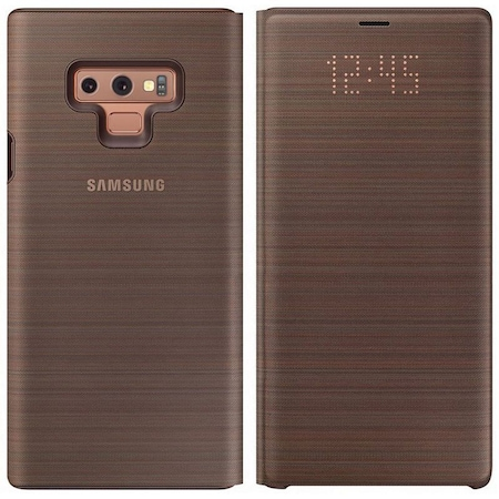 purchase cheap 5c3be a33f8 Samsung Galaxy Note 9 Kılıf Led View Flip Cover EF-NN960PAEGW