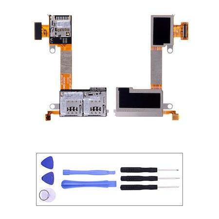 Sony Xperia M2 Cift Sim Sim Hafiza Kart Filmi D2302 Tamir Seti