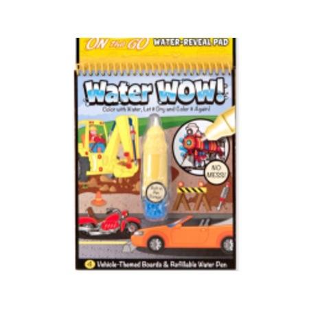 Magic Water 4 Sayfa Araba Sihirli Boyama Kitabı N11com