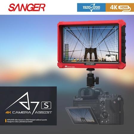 Sanger A7S Canon EOS 750D EOS 700D EOS 100D Kamera Monitörü