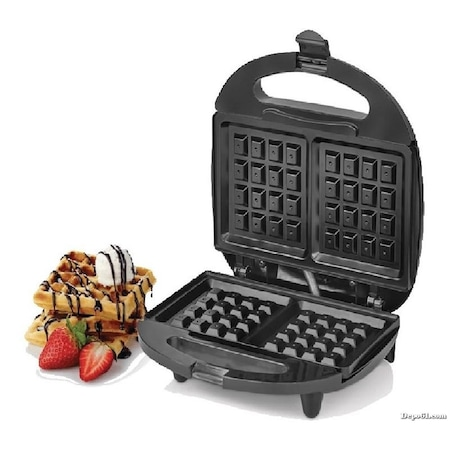 Waffle Makinesi ile Evde Leziz Waffle Hazırlamak Mümkün