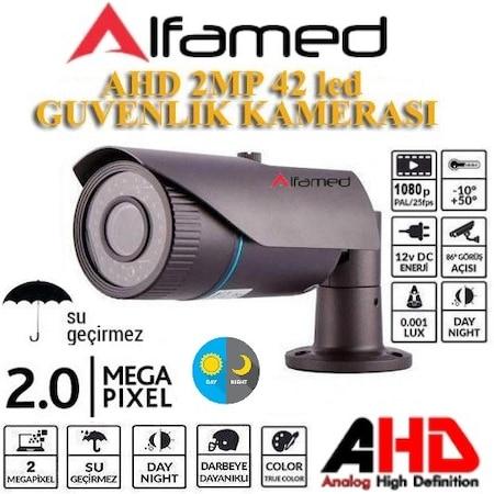 5 MegaPiksel Sony Lens 1080P 42 IRLED Samsung Kasa AHD Kamera