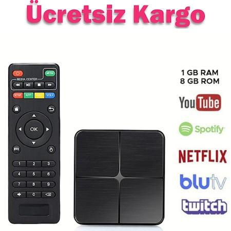 4k Android Smart Tv Box Puhutv Netflix Youtube Digiturk Play