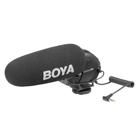 Boya By Bm3031 Dslr Fotograf Makinesi Prof Shotgun Tepe Mikrofon