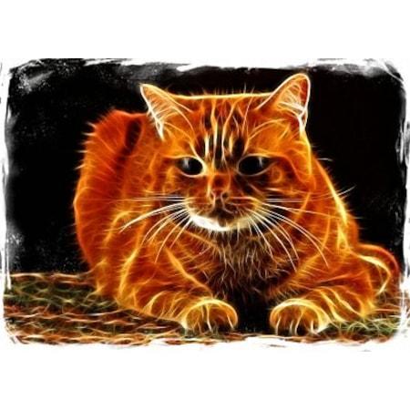 Kedi Ahşap Eskitme Tablo Evcafeofis Dekorasyonu N11com