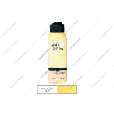 Artdeco Akrilik Boya 140ml Kanarya Sarısı 3032 N11com