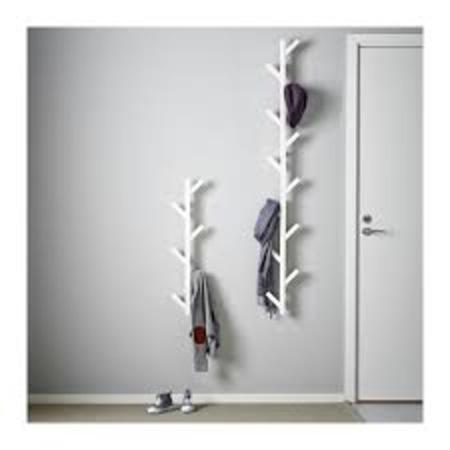 ikea tjusig duvar ask s 78 cm beyaz masif. Black Bedroom Furniture Sets. Home Design Ideas