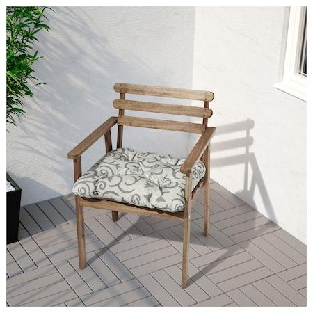 Ikea askholmen  Ikea Askholmen Bahçe Takımı, Masa + 4 Kolçaklı Sandalye, Masif ...
