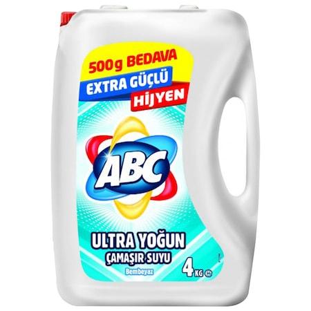 Abc Ultra Camasir Suyu Bembeyaz 4 Kg