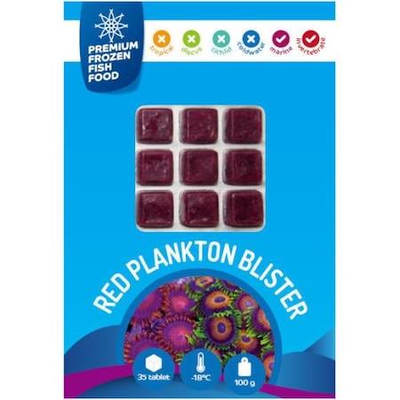 Rdm Premium Frozen Fish Food Red Plankton 100gr 35adet N11com