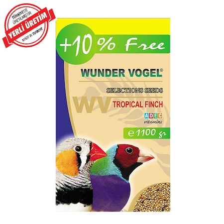 Wunder Vogel Selections Seeds Tropical Finch Hint Bulbulu Yemi 1