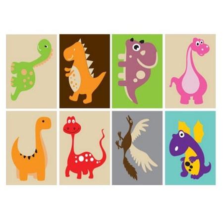 Dinozorlar çocuk Tuz Boyama Seti N11com
