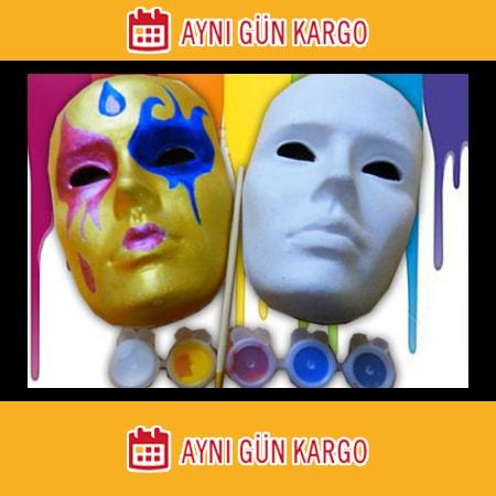 Seçilmiş Yüz Maskesi Boyama Yazdırılabilir Boyama Sayfaları