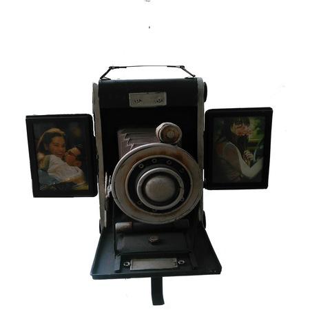 Nostaljik Metal Fotograf Makinesi Cerceveli El Yapimi N11 Com