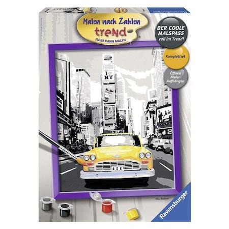 Ravensburger 283941 New York Taxi Sayilara Gore Boyama Seti N11 Com