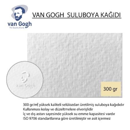 VAN GOGH 300 GR 50 70 DOKULU SULU BOYA KAĞIDI 25'Lİ PAKET Fiyatları ve Özellikleri