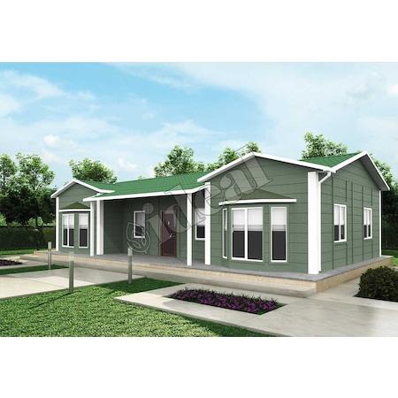 106 m2 3 1 prefabrik ev ideal ev
