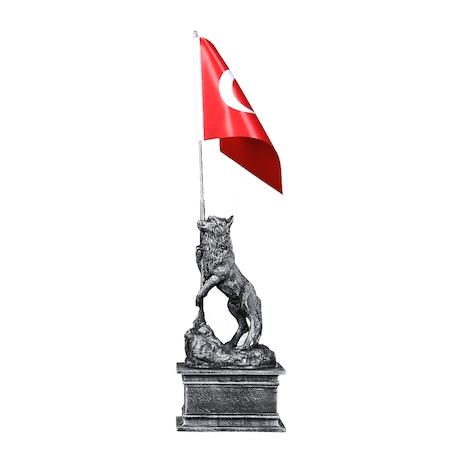 Bayrak Tutan Bozkurt N11 Com