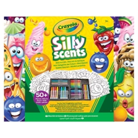Crayola Silly Scents Boyama Kalem Seti Pastel Keçeli Kuru Kalem