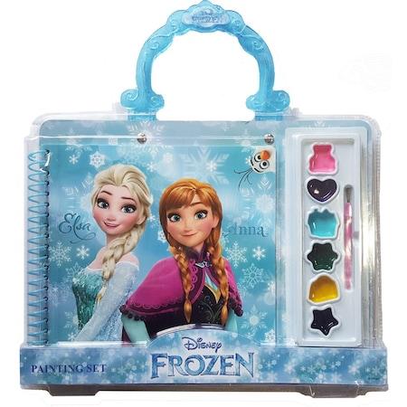 Frozen Elsa Boyama Seti Sulu Boya Defter N11com