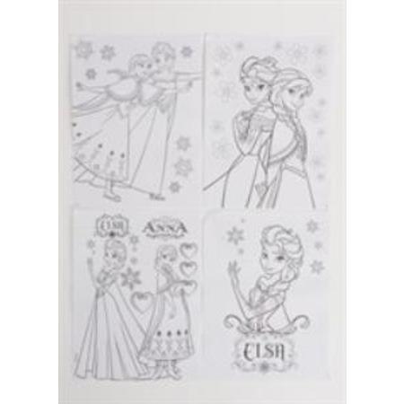 Frozen Elsa Kırtasiye Boyama Kalemleri Kalem Kutu Ve Defter N11com