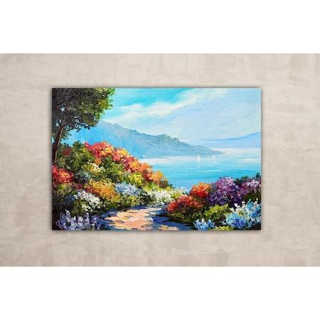 Deniz Manzarası Yağlı Boya Kanvas Tablo N11com