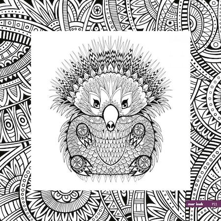 Kanvas Mandala Boyama Duvar Tablosu Platinum Seri N11 Com