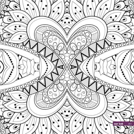 Kanvas Mandala Duvar Boyama Tablosu N11 Com