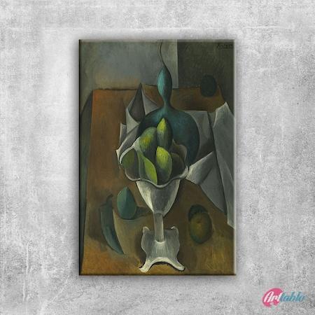 Pablo Picasso Meyve Tabagi Boya Klasik Sanat Kanvas Tablo N11com