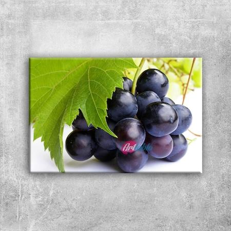Siyah üzüm Salkımı 1 Lezzetler Kanvas Tablo N11com