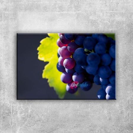 Siyah üzüm Salkımı 2 Lezzetler Kanvas Tablo N11com