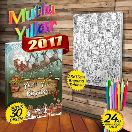 Yeni Yıl Duvar Tabloları Tablo Modelleri N11com